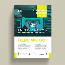flyer property innovative corporate business flyer template psd file free download