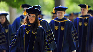 doctoral graduation gown commencement traditions features of notre dame
