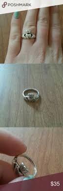 avery claddagh ring genuine opal claddagh ring claddagh rings