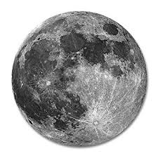 amazon com earth grey moon customized mouse pad 7 8 x7 8