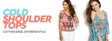 cold shoulder tops shop cold shoulder tops macy u0027s