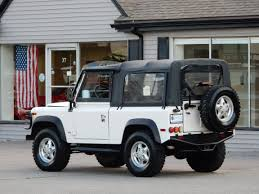 white land rover defender 90 1997 land rover defender 90 convertible copley motorcars
