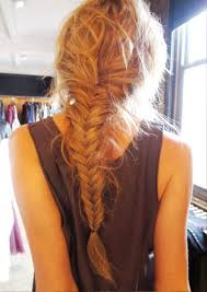 pictures of back view of fishtail braid hairstyle