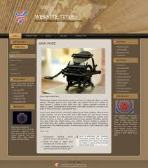 outdated book free website template website design free