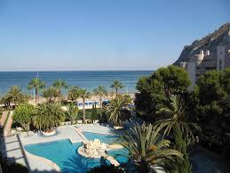 Wohnzimmerm El Calpe Apartamentos Paraíso Mar Spanien Calpe Booking Com