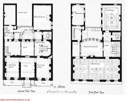 Georgian Mansion Floor Plans Typical Georgian House Floor Plan House Plans