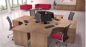 Rectangular Office Desk Rectangular Office Desk Cantilever Leg Choice Of Colours