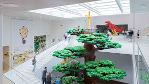 lego siege social big bjarke ingels the lego brick house billund denmark