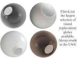 outdoor light globes replacement buy outdoor globe post lighting online acrylic garden post light