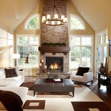 43 cozy and warm color schemes for your living room vaulted