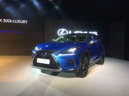 lexus india lexus nx 300h hybrid suv india showcase highlights ndtv carandbike