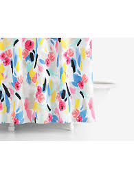 Kate Spade Striped Shower Curtain Paintball Floral Shower Curtain Kate Spade New York