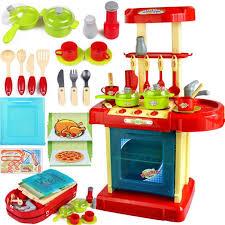 valise cuisine play house enfants cuisine jouets portable valises ensembles de