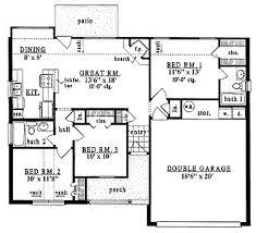 home plans homepw15610 1 086 square feet 3 bedroom 2 bathroom