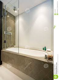 large luxury bath with shower attachment royalty free stock