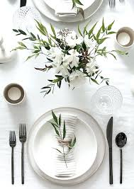 ideas for table settings for a dinner charming inspiration