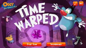 cartoon network games oggy cockroaches warped