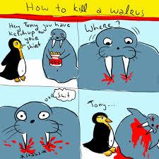 Walrus Meme - how to kill a walrus by recyclebin meme center