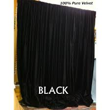 Thick Black Curtains Buy Lemon Gold Velvet Curtains And Drapes Made From Vintage Cotton