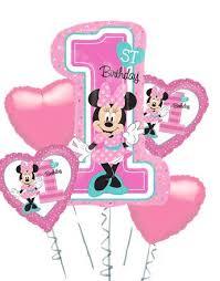 minnie mouse 1st birthday balloon bouquet minnie mouse 1st birthday balloon bouquet