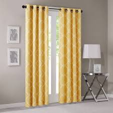 amazon com madison park saratoga fretwork print window curtain