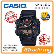 Jam Tangan Casio New sporty jam tangan casio original modern aeq 100w 110w