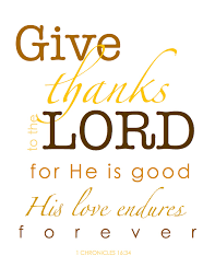 give thanks to the lord clip happy thanksgiving