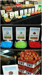 Minecraft Party Centerpieces by 61 Best Minecraft Party Images On Pinterest Birthday Party Ideas