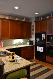 Kitchen With Painted Cabinets Painting Kitchen Cabinets With Chalk Paint Update Sincerely Sara D