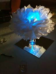 home sanctuary tissue paper pom poms with led lights