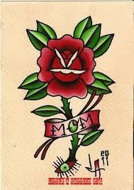 traditional mom rose tattoo design best tattoo designs