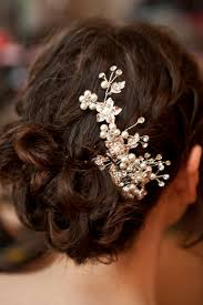 monsoon hair accessories a purple and pearls scottish wedding with a monsoon wedding dress
