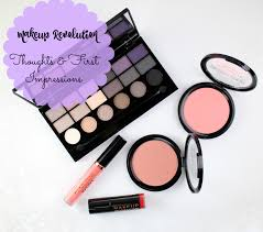 today i have a few pieces from makeup revolution usa to share with you this was my first time experimenting with the brand so i thought i would give