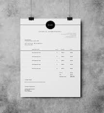 invoice template invoice design receipt ms word invoice