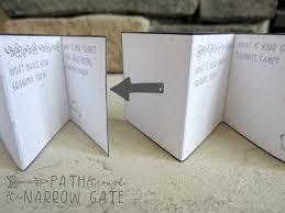 Blank Boxes To Decorate Printable Mother U0027s Day Gift Box Card Path Through The Narrow Gate