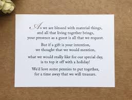 wedding gift honeymoon fund wedding invite poems asking for money for honeymoon honeymoon