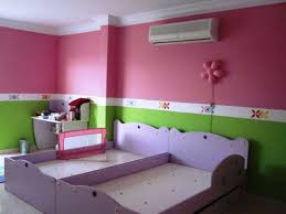 pink and orange bedrooms
