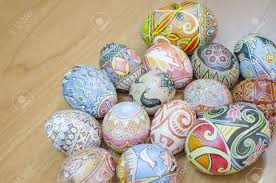 Decorating Easter Eggs With Wax by Ukrainian Easter Egg Decorated With Traditional Ukrainian Folk