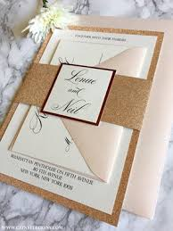wedding invitations glitter sles cz invitations