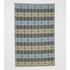 Recycled Outdoor Rugs Reversible U0026 Recycled Blue Morocco Indoor Outdoor Rug Vivaterra