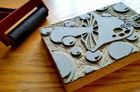 linoleum carving process lessons tes teach