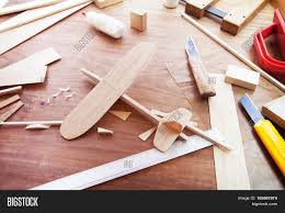 Handcrafted Wood Tables Making Model Airplane From Wood Wooden Air Plane Handcrafted With