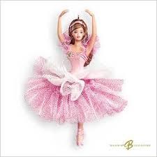2007 flower ballerina hallmark ornament at hooked on