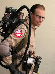 ghostbuster free stock photo a man in a ghostbusters costume