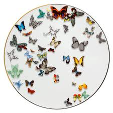 butterfly platter butterfly parade charger plate christian lacroix dinnerware and