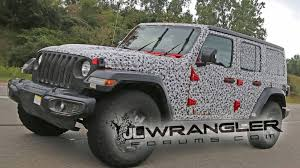 bulletproof jeep spy shots of nearly 2018 jeep wrangler emerge on jl wrangler