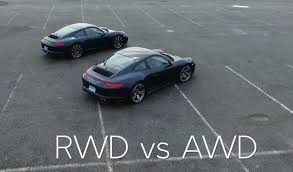 Porsche 918 Awd - which porsche 911 is right for you rwd vs awd