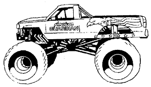 trend monster trucks coloring pages 60 in free colouring pages