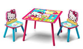 Toddler Wooden Chair Delta Children Hello Kitty Table U0026 Chairs Baby Toddler