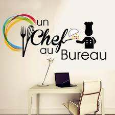 stickers bureau un chef au bureau par prestige de chef ร านอาหาร